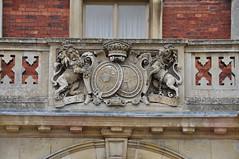 Royal crest at Sandringham House