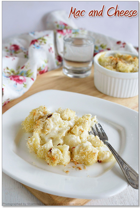 Baked Mac(Macroni) and Cheese