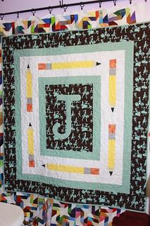 Juicy's quilt side 1