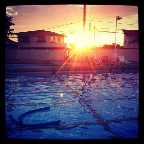 sunset pool japan yokohama ycac