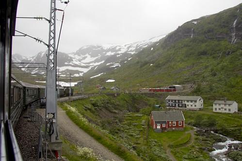 165 Tren de Flam y de Oslo