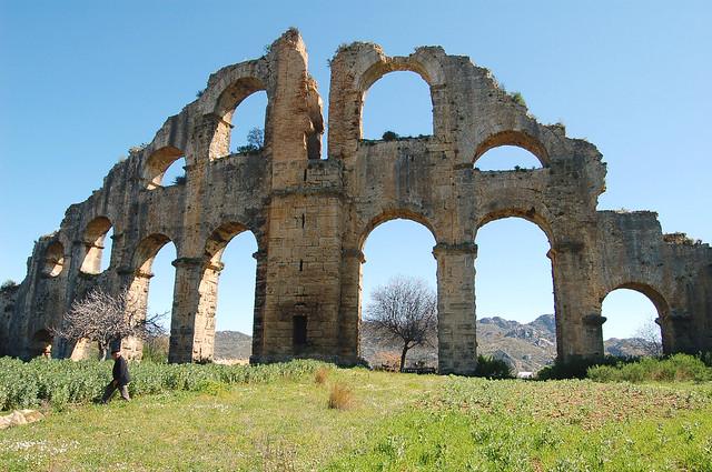 Aspendos Aqueduct,South Siphon