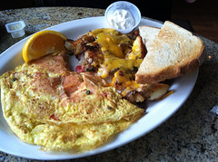 Lox Omelette, Word of Mouth, Sarasota, FL