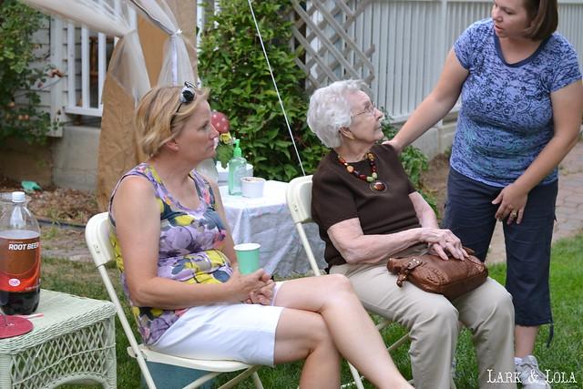 Grandmas & auntie