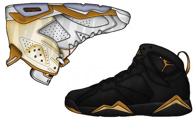 Jordan 67 Olympic Pack