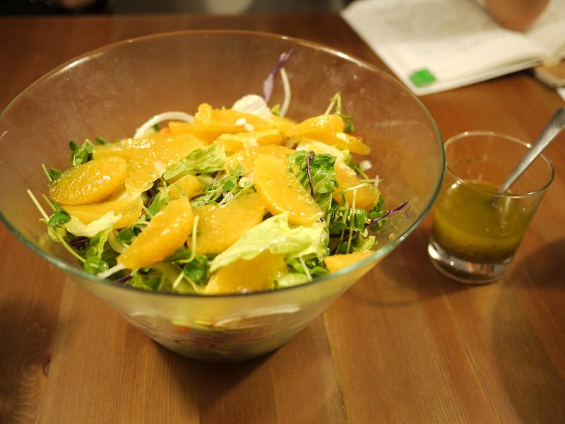 油醋醬汁生菜沙拉