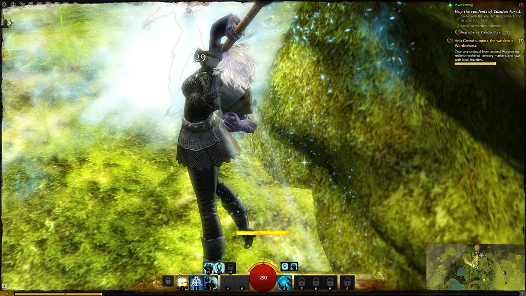 Sylvari Guardian on Guild Wars 2 | Fleep Tuque | Flickr