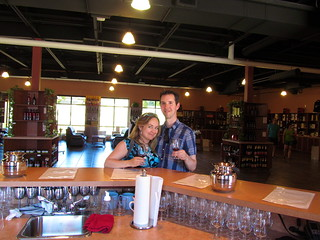 Wine Tasting at Volcanic Hills Winery