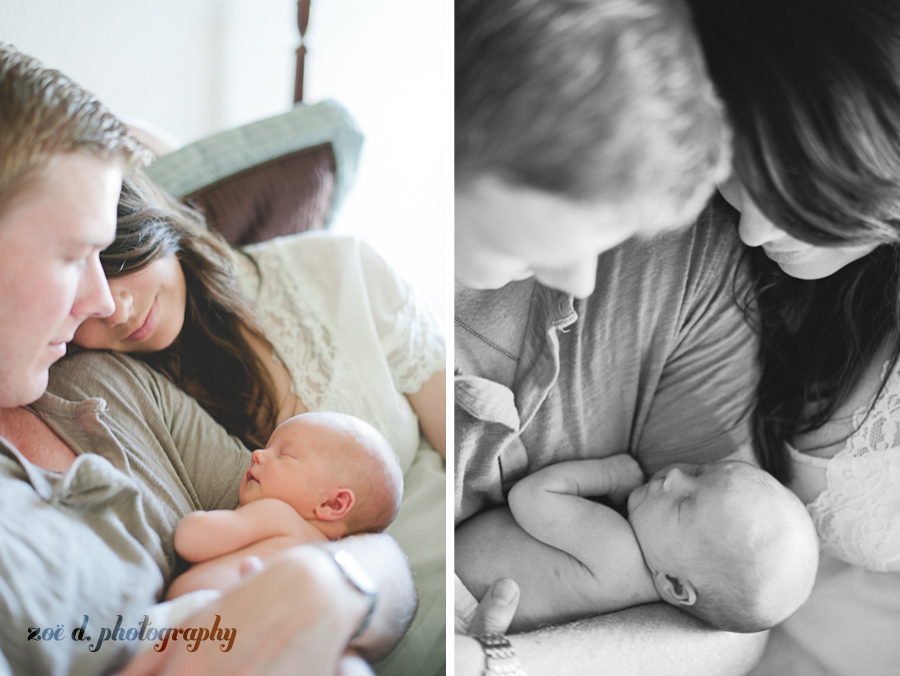 newborn baby family photos in dallas texas