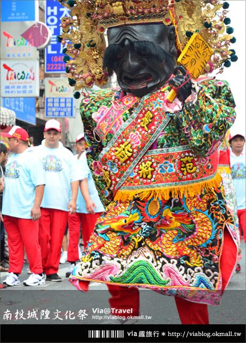 【廟會遊行】2012南投配天宮城隍聖誕文化祭~市區遊行篇!