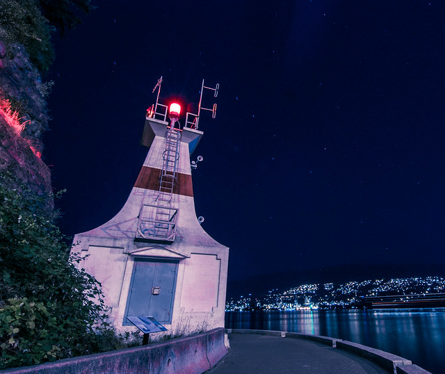Prospect Point Lighthouse + Big Dipper