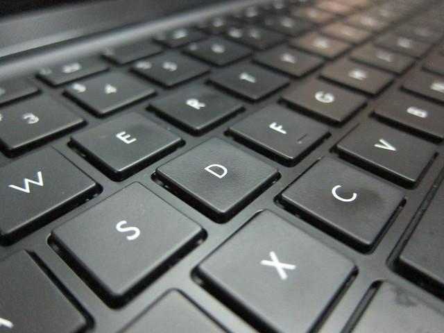 HP Envy 4 - Keyboard (Closed Up)