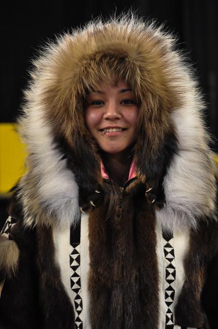 Pageant show [Eskimo Olympic, Alaska]