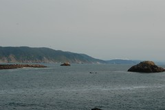 Coastline view from Crescent City