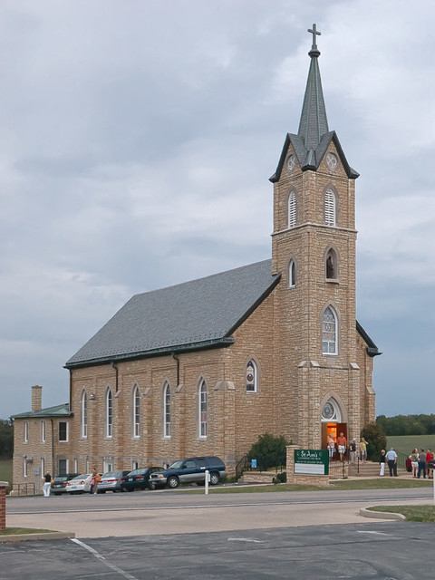 Saint Ann Roman Catholic Church, in Clover Bottom, Missouri, USA