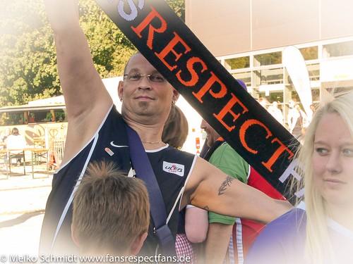 Fans respect Fans