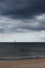 Stormy at Sutton on Sea