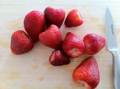 Hulled Strawberries