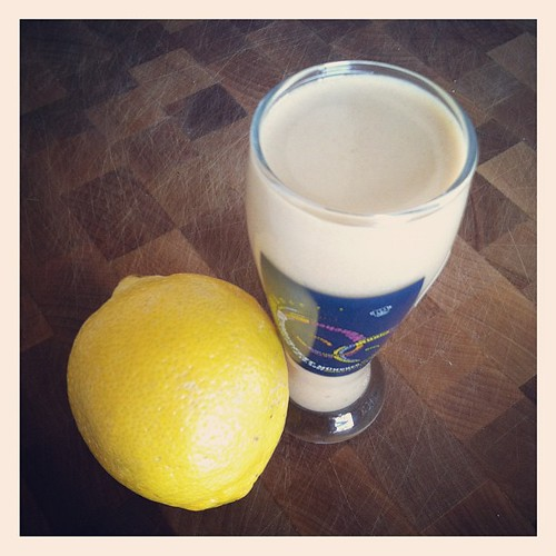Lemon Meringue Pie Protein Shot
