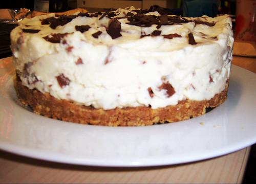 Gluten Free Toblerone Cheesecake