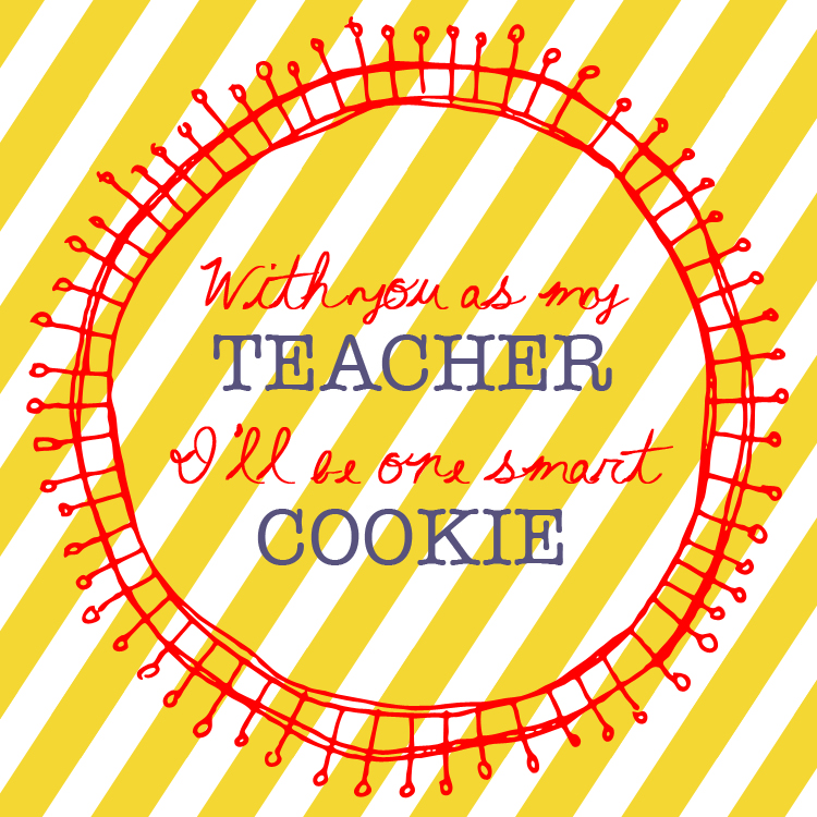 Smart Cookie Teacher Gift Printable