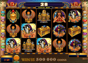 Throne of Egypt Free Spins