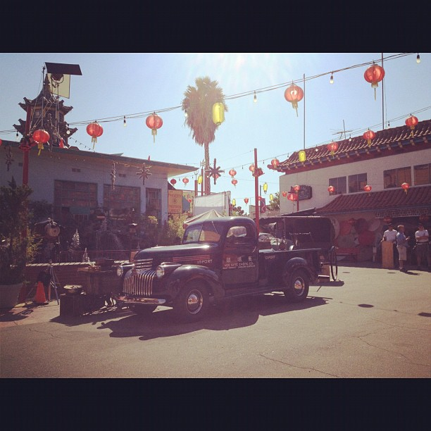 Chinatown is being transformed for 3 nights of film shooting.