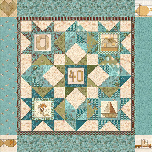 40th anniversary quilt winner