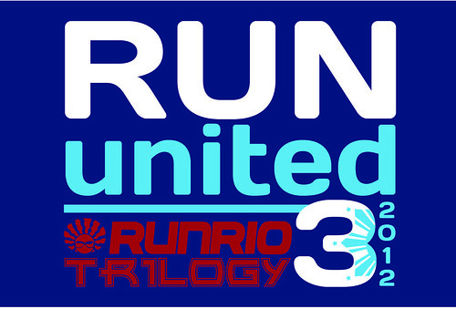 Run United 3 2012 Trilogy Logo