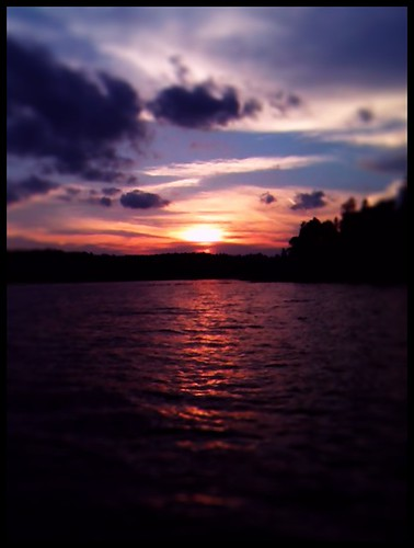 sunset summer lake nature minnesota outdoors fishing scenery scenic voyageurs cranelake voyageursnationalpark handbergsmarine