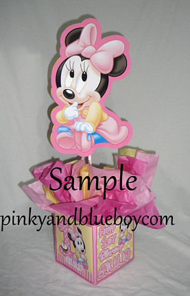 Elegant 12 Inch Baby Minnie Mouse Decorations Handmade Supplies