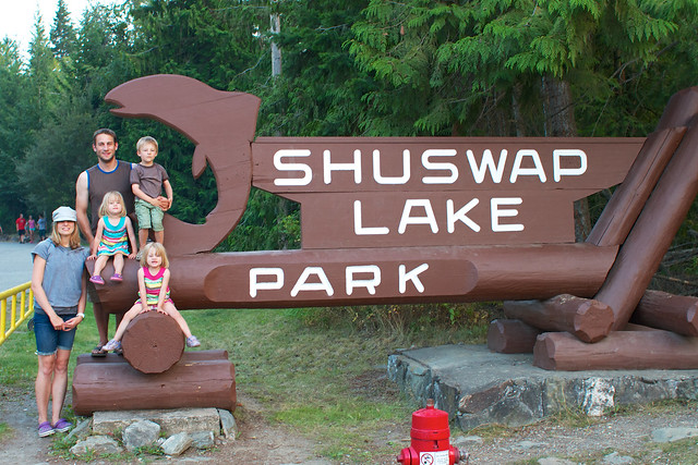 Naegelis Shuswap sign