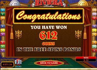 Riviera Riches Free Spins