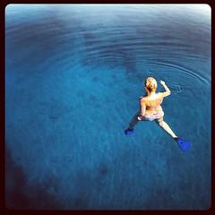 Flying floating bambolina