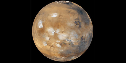 Photo of Mars courtesy NASA