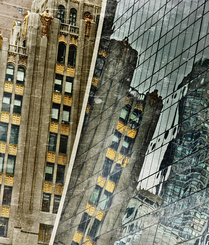 reflections on 9 west, 57th st