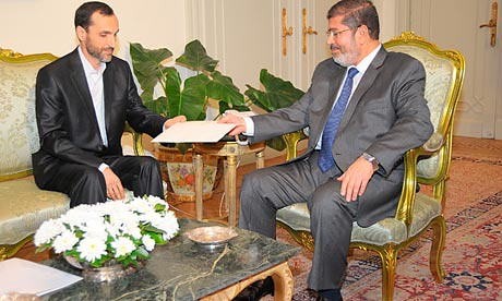 President Mohamed Morsi receives an invitation to Non-Aligned Movement summit in Tehran. The two states are working to improve relations. by Pan-African News Wire File Photos