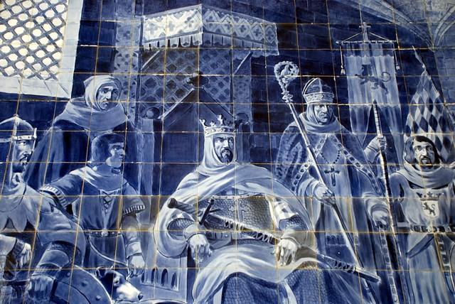 Alfonso VII of León azulejo
