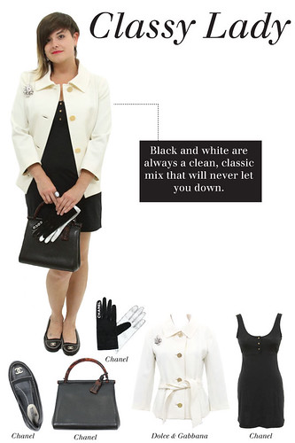 How to wear classy lady