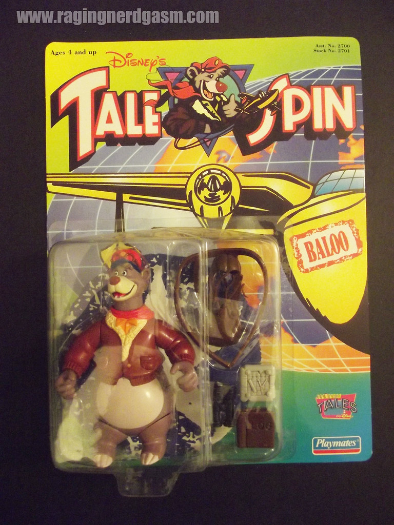 Dysney's Tale Spin Action Figures by Playmates 1991 005