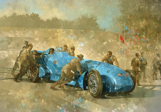 1928 Napier-Campbell Blue Bird III by Peter Miller