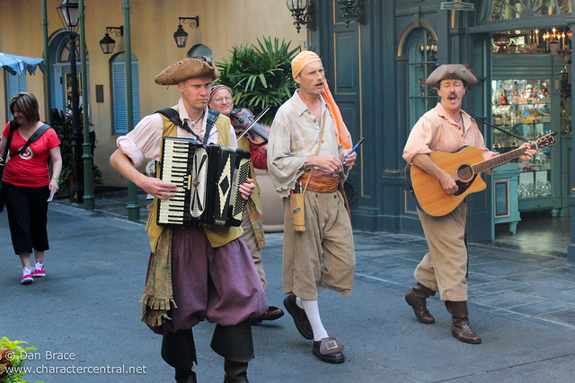 Wandering around New Orleans Square
