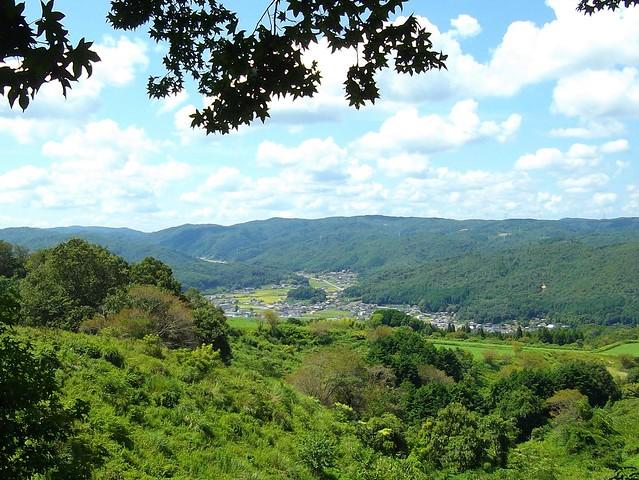 上山牧場からの眺め