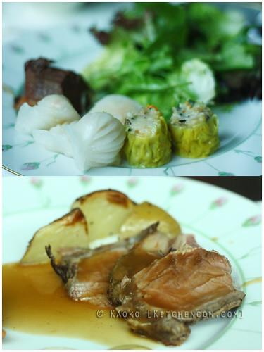 The Rose Veranda - Meat, potatoes and dimsum