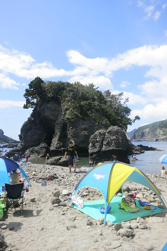 snorkeling at hirizo izu japan