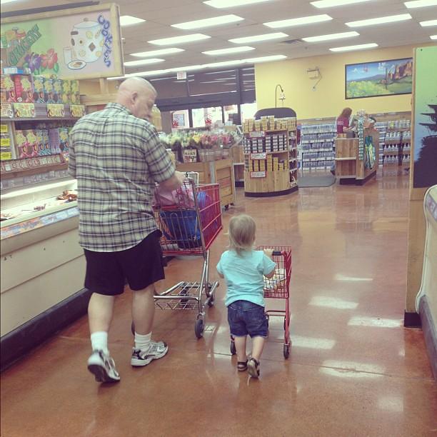 Grandpa & Henry.