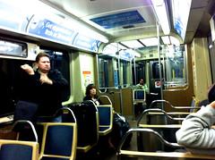 シカゴ空港から地下鉄