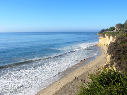 paradise cove, looking north
