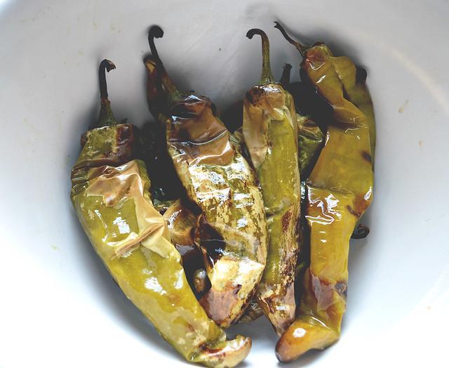 Roasted Hatch Chilis