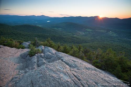 sunset mountains landscape photography stowe vt mtmansfield